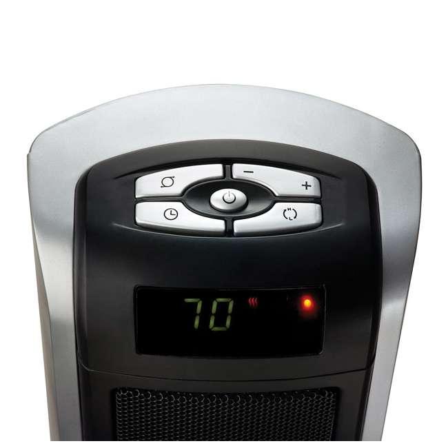 LKO-5521-TN Lasko 5521 Portable Electric 1500W Room Oscillating Ceramic Tower Space Heater 1