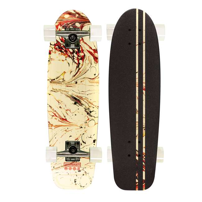 JEDEL Aluminati Pre-Gripped Lightweight Edelia Jerry Cruiser Skateboard with Wheels