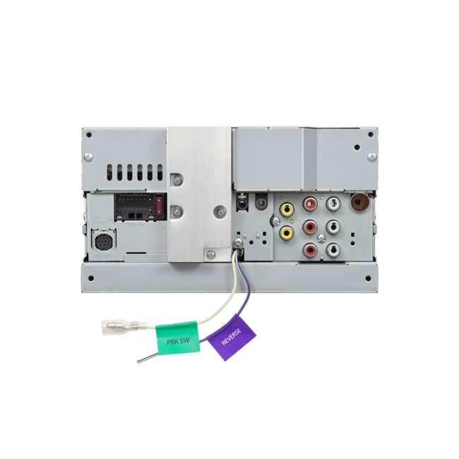 KW-V25BT JVC Mobile KW-V25BT 6.2 inch In-Dash Multimedia DVD Receiver  3