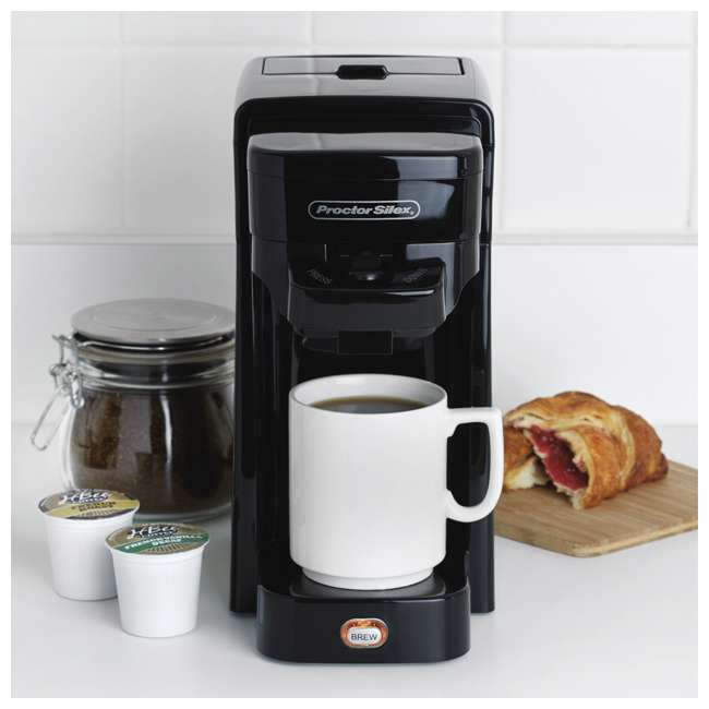 49961 Proctor-Silex FlexBrew SingleServe Coffeemaker 3