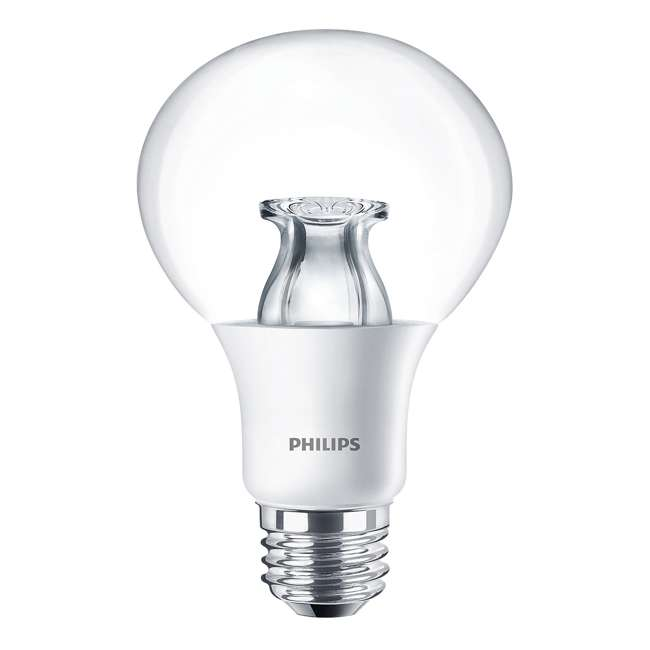 3 x PLC-459347 Philips 10W 2700K Dimmable Warm White 60W Replacement LED Bulb (3 Pack) 1