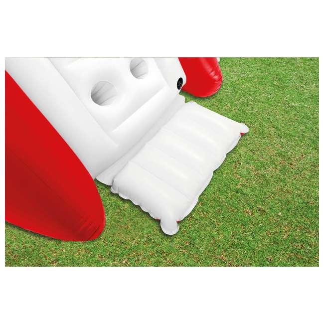 58849VM-U-A Intex Kool Splash Inflatable Water Slide Center w/ Sprayer Red (Open Box)(2 Pack) 5