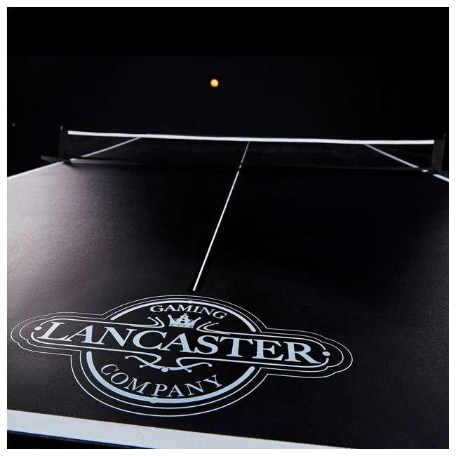 TTT212_018P Lancaster 2- Piece Indoor 2 Table Tennis Game Set w/o Paddles & Balls 4