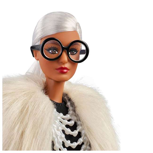 FWJ27 Barbie Collector Styled by Iris Apfel Doll with Multi-Hued Vest and Accessories 3