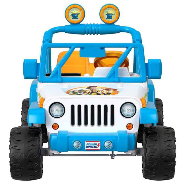 FYX48 Power Wheels Disney Pixar Toy Story Kids Electric 12V Car Ride On Jeep Wrangler 4