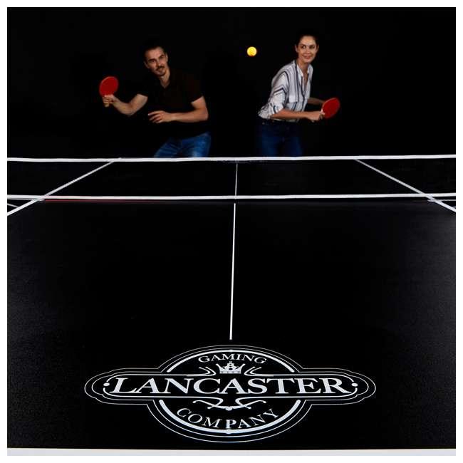 TTT218_108P Lancaster Tournament Folding Table Tennis Table 9