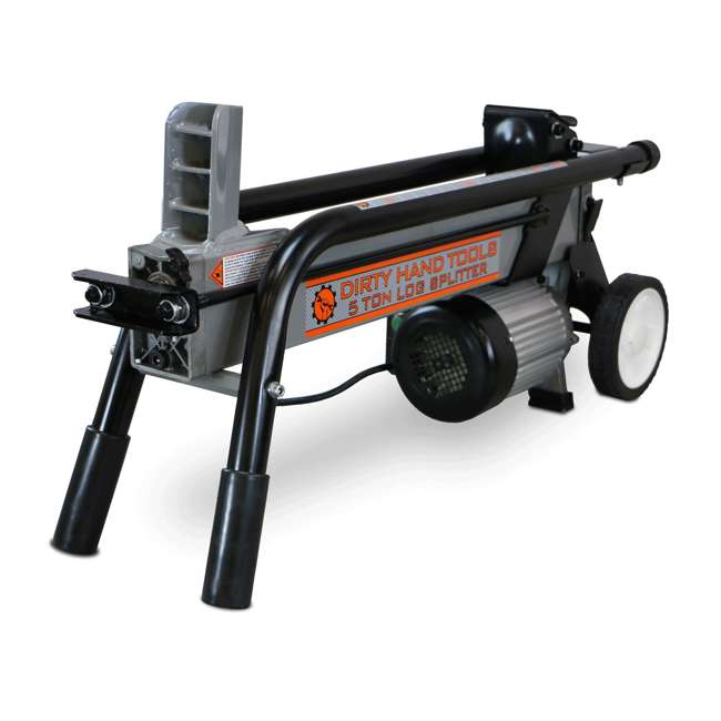 DHT-100481 5-Ton Force Electric Horizontal Wood Log Splitter