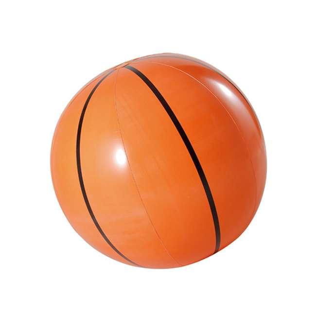 KF0062000167 Big Play Sports Jumbo Inflatable Pool Basketball Hoop Set 2