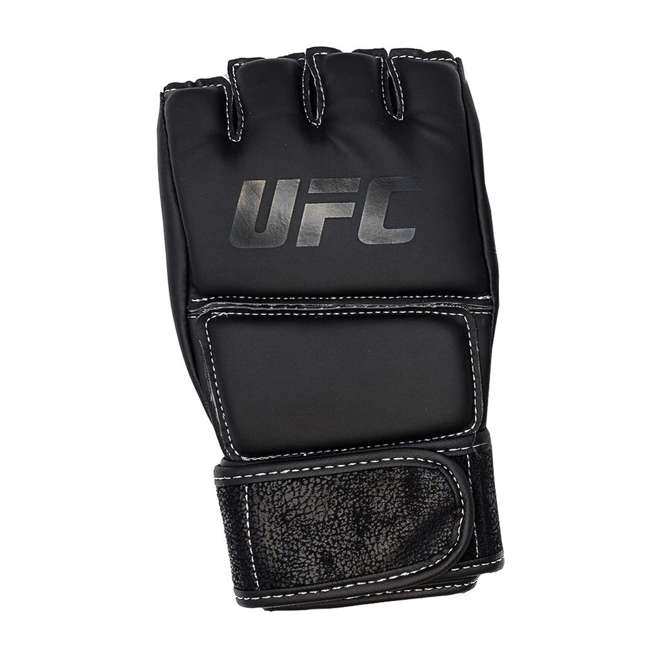 14430P010250-MMASM Century Martial Arts UFC Open Palm S/M Gloves, Black (2 Pairs) 3