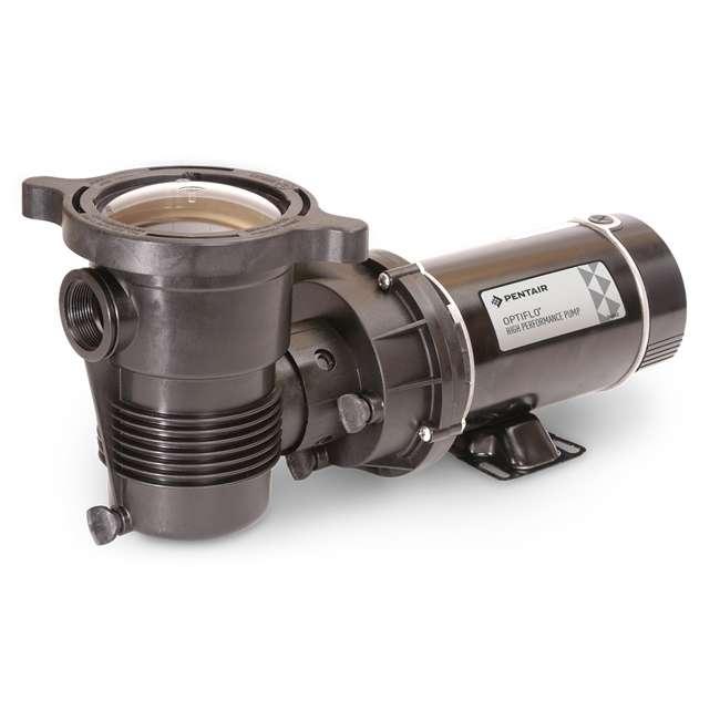 347991 Pentair 347991 OptiFlo Horizontal 1HP 115V 2 Speed Above Ground Pool Pump & Cord