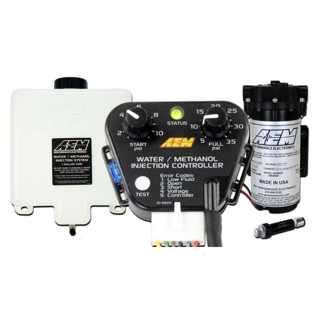 30-3300-U-A AEM Electronics Water Methanol Fuel Injection System Kit, Gas Engines (Open Box)