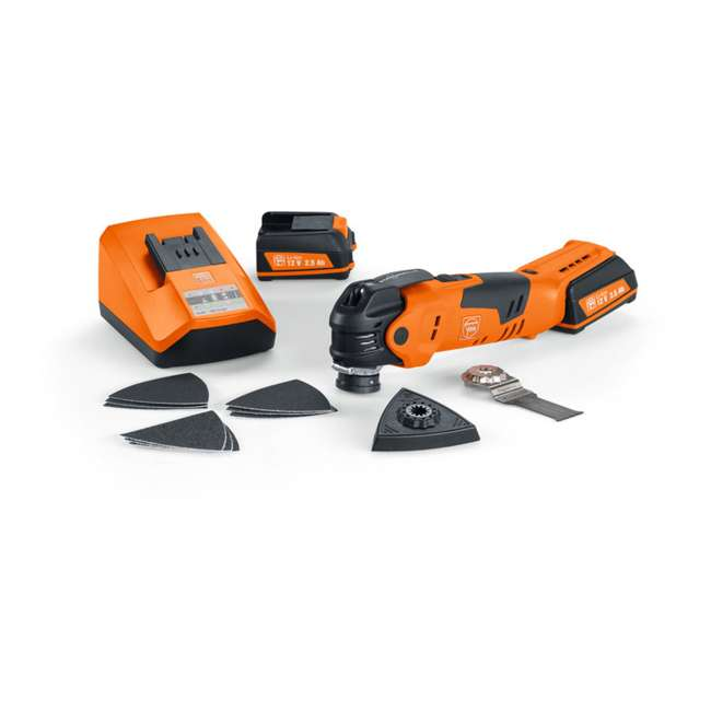 FT-71292561090 Fein Cordless MultiTalent QuickStart Cordless Oscillating Multi-Tool 4