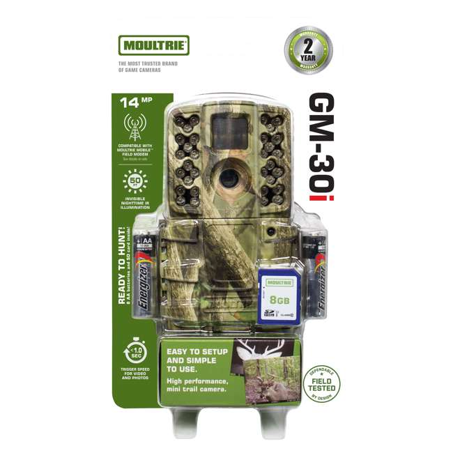 4 x MCG-GM30i Moultrie Gen 2 14 MP Infrared Digital Game Trail Hunting Camera (4 Pack) 4