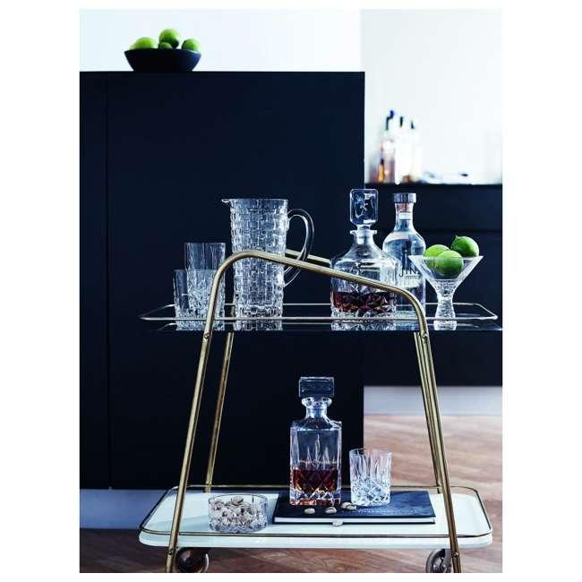 92074 Riedel Nachtmann Bossa Nova 40 Ounce Dishwasher Safe Crystal Water Pitcher Jug 3