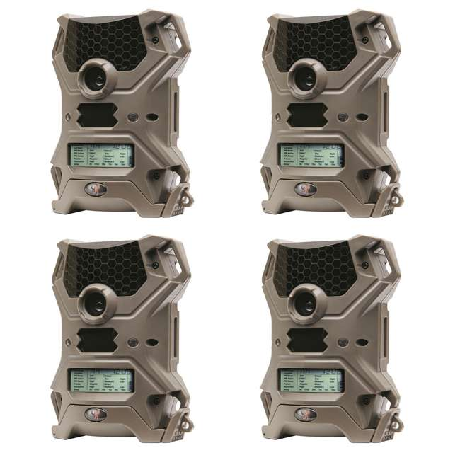 4 x WGI-V10i20A1 Wildgame Innovations Vision 10 10MP IR Game Trail Camera (4 Pack)