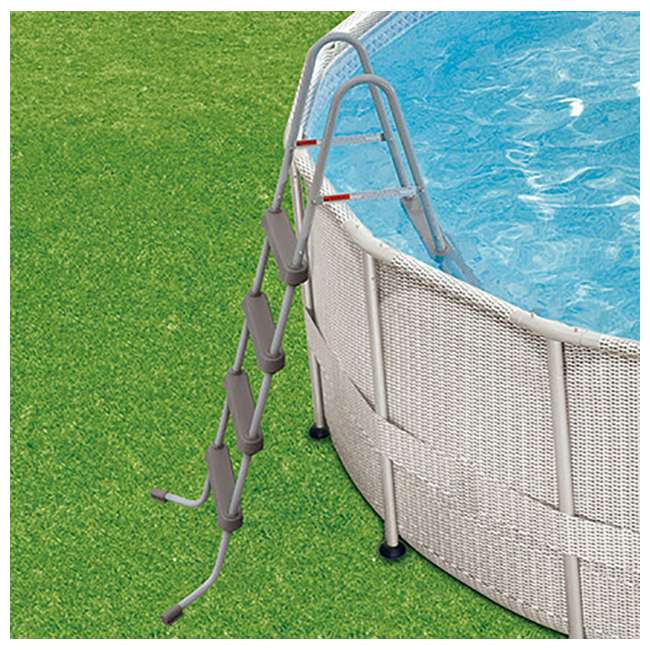 "P4B02048B167 + QLC-42005 Summer Waves 20' x 48"" Above Ground Pool + Qualco Pool Chemical Maintenance Kit 3"