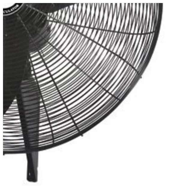 AK-99538-PA-U-A Air King 30 Inch Indoor 3 Speed Industrial Oscillating Wall Mount Fan (Open Box) 2