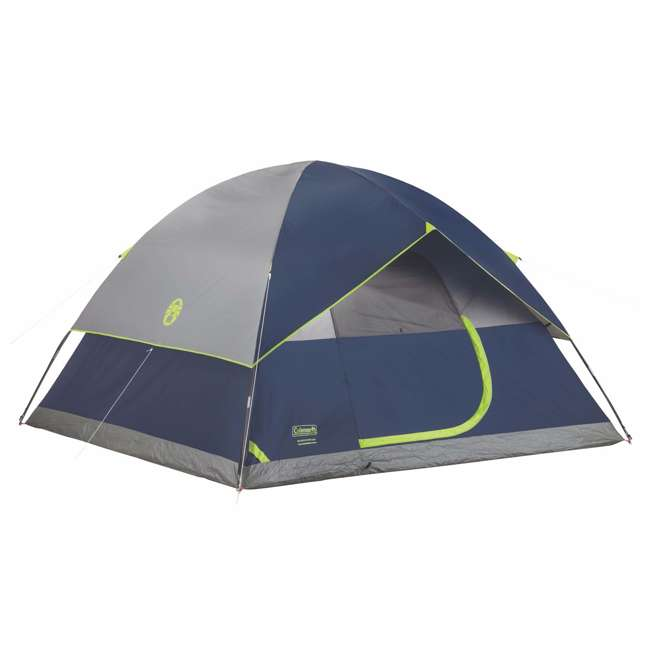 2000024583 Coleman Sundome 6 Person Tent w/ Rainfly (2 Pack) 1