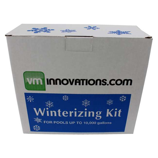 CLOSEKIT-10K Swimming Pool Winterizing Chemical Closing Kits - Up to 10k Gallons 1