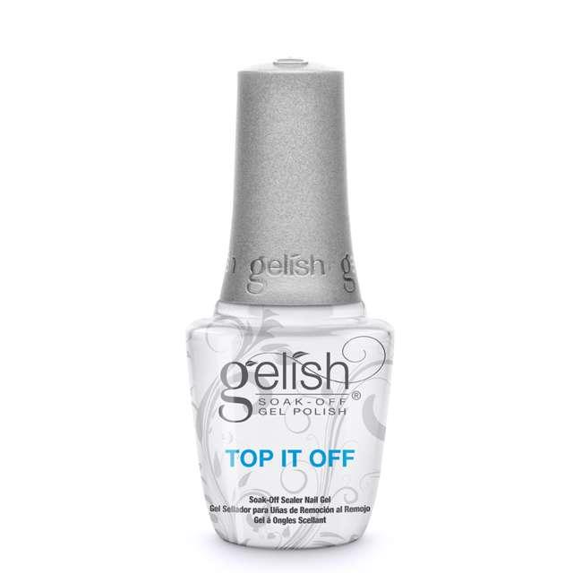 1121519-TOPOFFDUO Gelish Matte & Gloss Duo Top It Off Soak Off Gel Nail Polish Sealer Clear Coat 2
