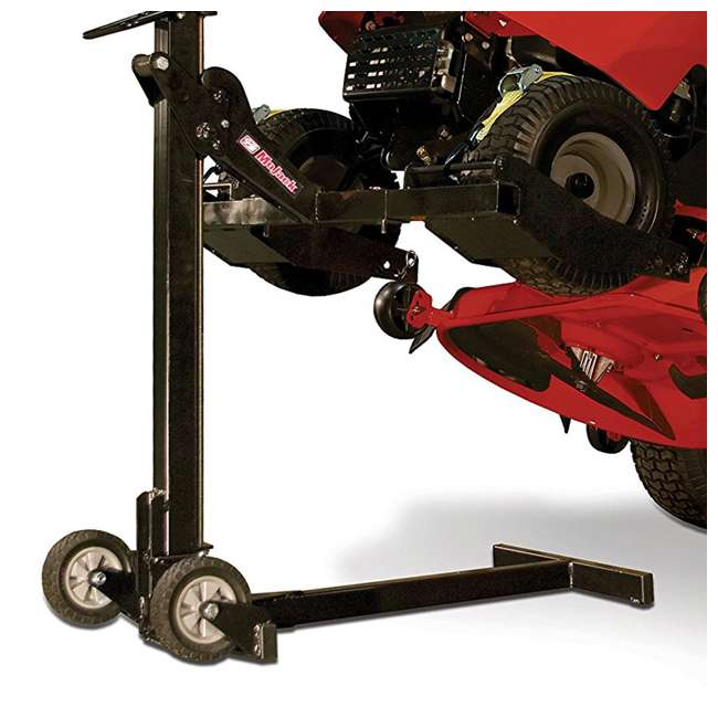 MJEZ-U-A MoJack  Compact Folding 300 lb Capacity Riding Lawn Mower Lift Jack (Open Box) 4