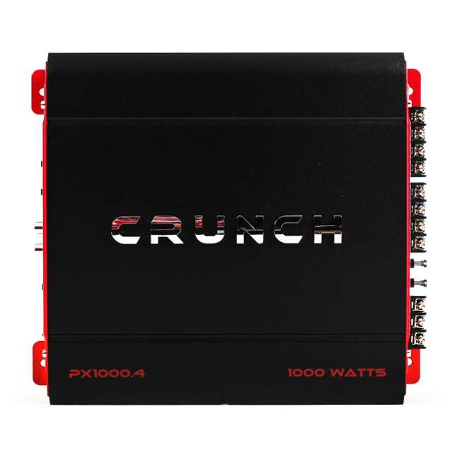 PX-1000.4 New Crunch PX-1000.4 4 Channel 1000 Watt Amplifier (2 Pack) 1