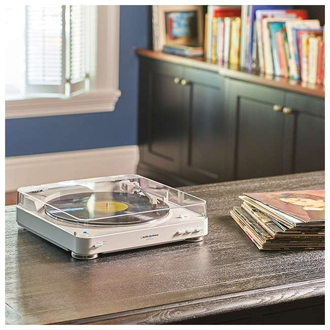 AT-LP60WH-BT-OB Audio-Technica Fully Automatic Bluetooth Turntable Record Player 6
