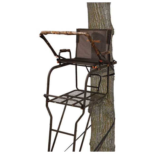 BGM-LS0550 Big Game LS0550 Hunter HD 1.5 Deer Hunting 18.5 Foot 1 Person Ladder Tree Stand