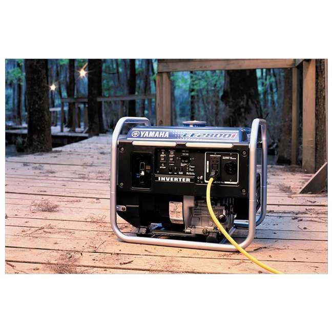 EF2800i Yamaha EF2800i 2500-Watt Inverter Generator, Blue   3