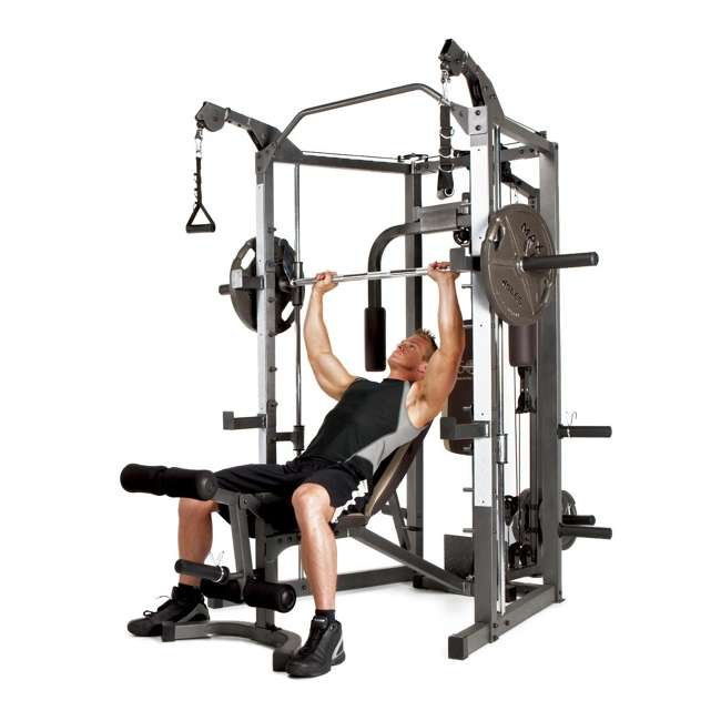 SM-4008 Marcy Combo Smith Strength Home Gym Machine 1