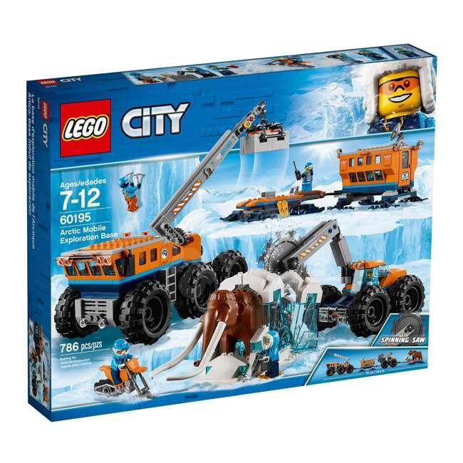6212400-U-A Lego City Arctic Mobile Exploration Base Toy Set for Children, Blue (Open Box)