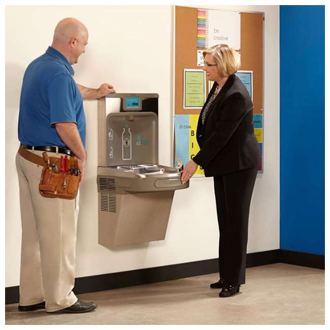 Elkay EZH20 Bottle Filling Station and Water Fountain