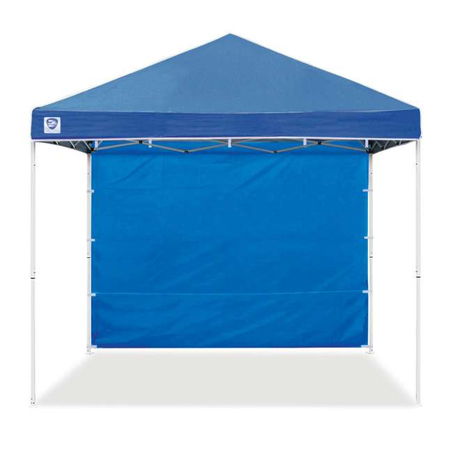 3 x ZS10EVRTSWBL Z Shade 10ft Blue Everest Instant Canopy Tent Taffeta Sidewall Accessory(3 Pack) 3
