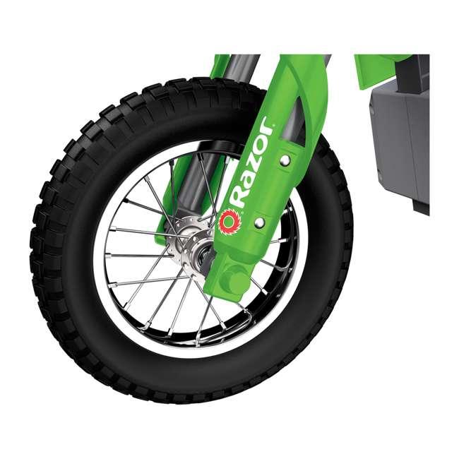 15128030 Razor MX400 Dirt Rocket Electric Motorcycle, Green (2 Pack) 9