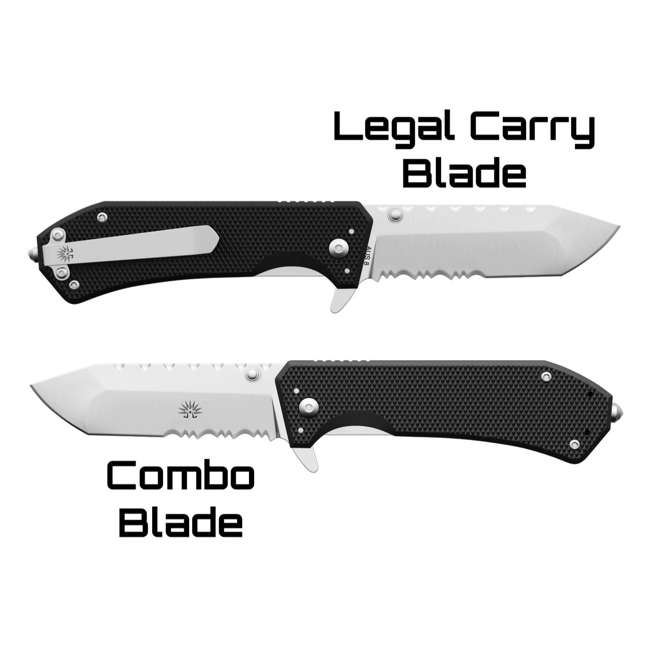 X001LXSB39 - 7777891252 Legal Eagle Off-Grid Legal Eagle 7777891252 Deep Pocket AUS8 Pocket Knife With Glass Breaker 3