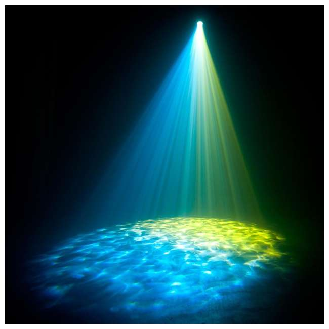 H2O-IR + DJBANK American DJ H2O IR Water Light and Chauvet Sound Active Light 5