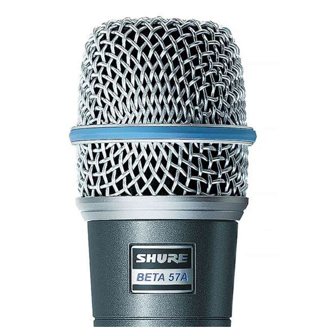 BETA-57A Shure BETA 57A Professional Instrument Microphone (2 Pack) 3