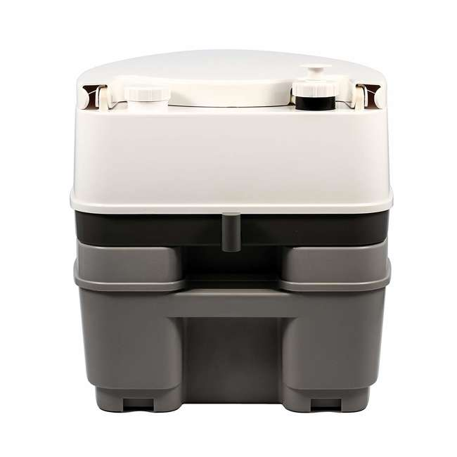 41545 Camco 41545 5.3 Gallon Portable Travel Toilet with Sealed Tank and Flush Pump 3