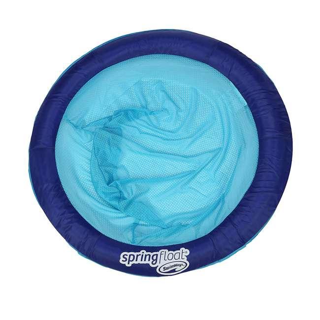 6047195-SW SwimWays Swimming Pool Spring Float Papasan, Blue