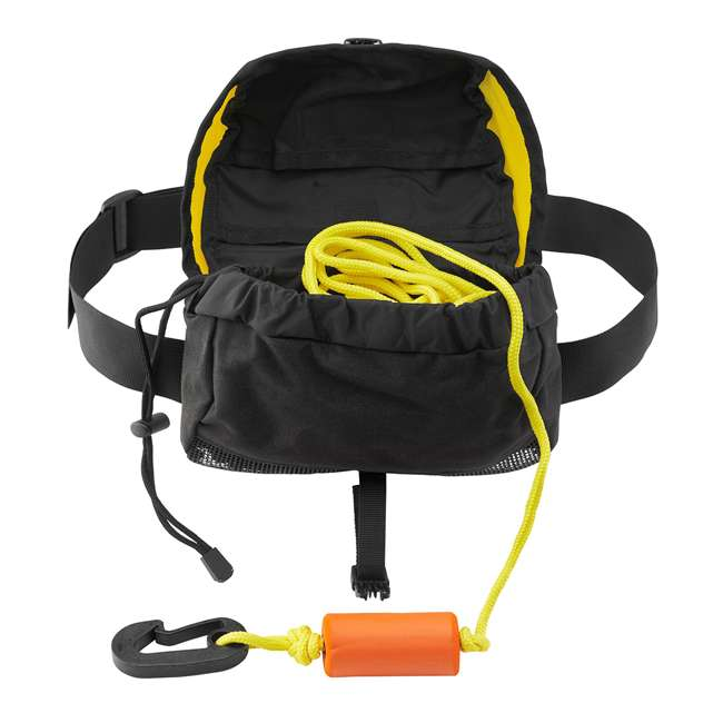 50002.01.100 NRS 50002.01 50-Feet Role Kayak Tow Line with Cordura Bag & 24-Inch Bungee Cord 1