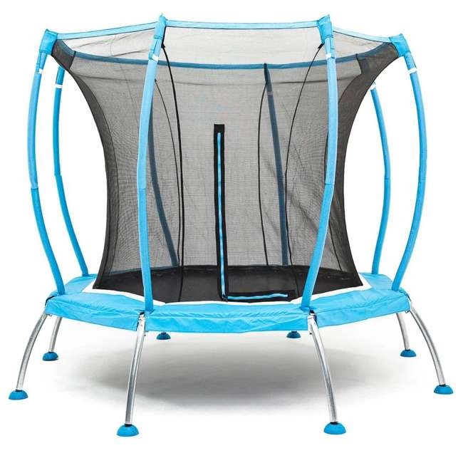 SB-T08ATM02 Skybound Atmos SB-T08ATM02 8 Foot Octagonal Blue Trampoline With Safety Net