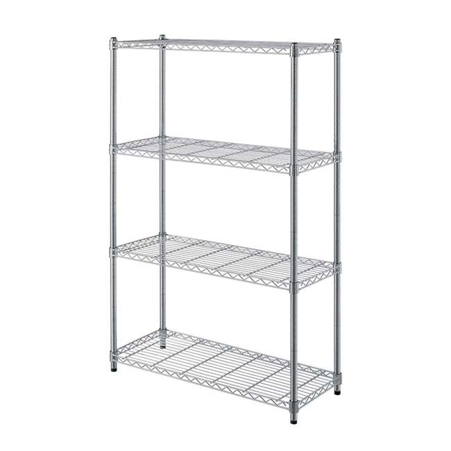 AM178-U-C AIMCO 4 Tier Heavy Duty Household Storage Wire Shelving Unit (For Parts)