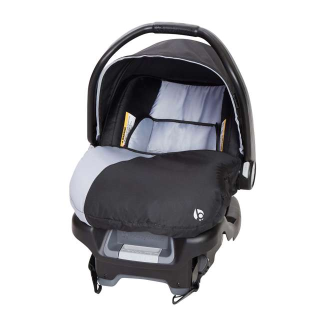 SS76B51A + 2 x CS79B51A Baby Trend Sit N Stand Tandem Stroller + Car Seats (2) Travel System, Stormy 7