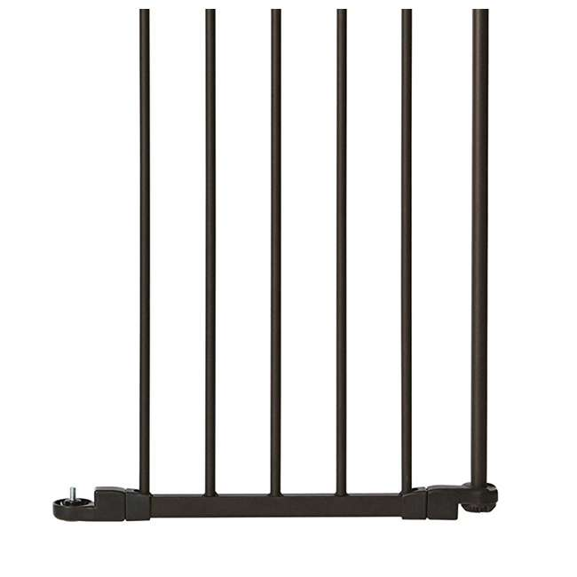 4938 North States 15-Inch Bronze Extension Piece Deluxe Decor Gate (Open Box)(2 Pack) 4