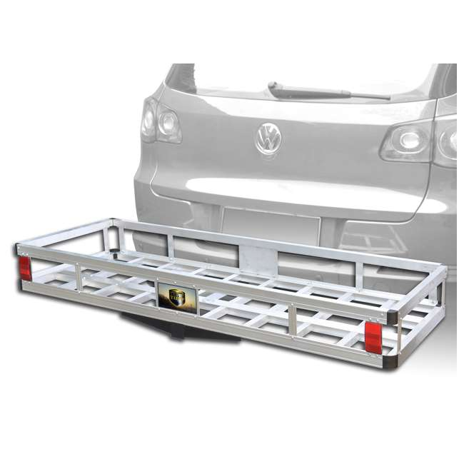 TOW-TTF-2260A Tow Tuff 60-Pound 500-Pound Aluminum Cargo Carrier (2 Pack) 2