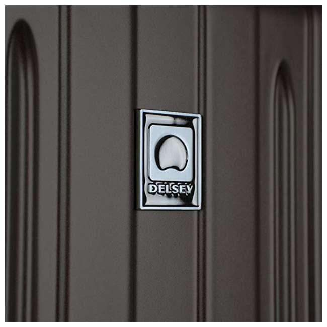 00207180000 DELSEY Paris Titanium Expandable CarryOn Spinner Rolling Luggage Suitcase, Black 5