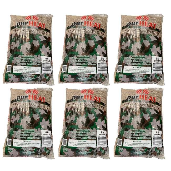 6 x HCHP40 US Stove 40 Pound Bag Natural Wood Heating Pellets for Pellet Stoves (6 Pack)