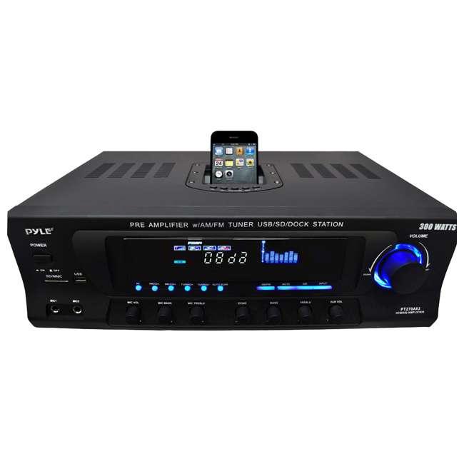 PT270AIU Pyle Pro PT270AIU 300W Home Amplifier Receiver 1