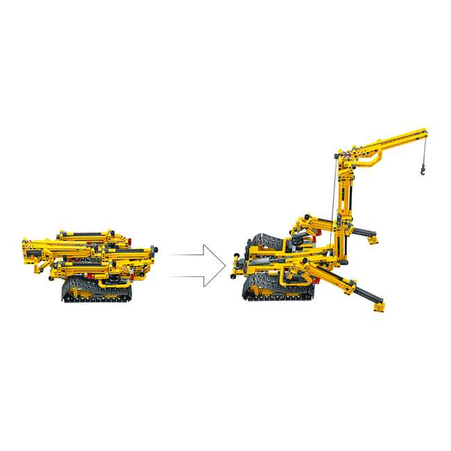 6251555 LEGO Technic 42097 Compact Crawler Crane 920 Piece Construction Building Set 6