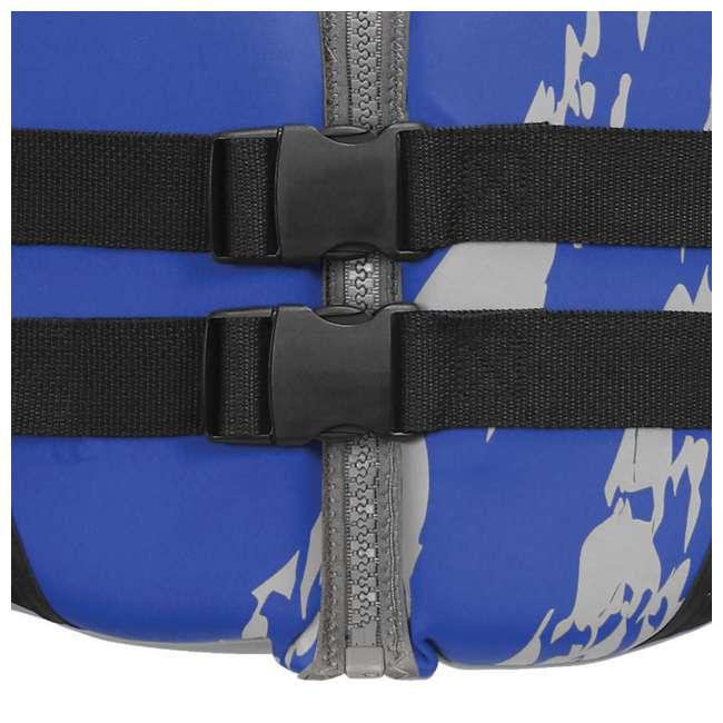 10 x 10076-09-B-BL Airhead Swoosh Neolite Adult Medium Life Vest, Blue (10 Pack) 5